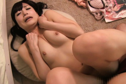 Ringo aoi. Ringo Aoi Asian with playful chest has shaved beaver