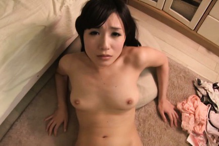 Ringo aoi. Ringo Aoi Asian with fine tits has shaved wet pussy