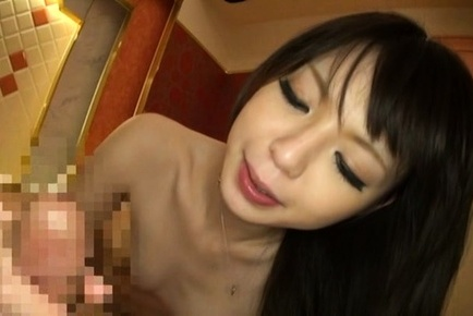 Aya eikura. Aya Eikura Asian with heavy nipples strokes and screws heavy penish