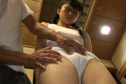 Kaede horiuchi. Kaede Horiuchi Asian has twat and butt cheeks touched over body