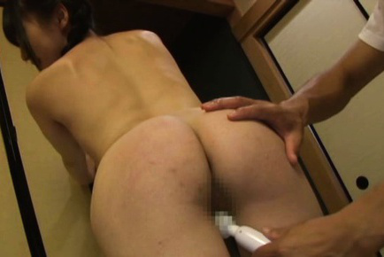 Kaede horiuchi. Kaede Horiuchi Asian has twat and push ups aroused with dildo