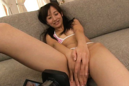 Rimu sasahara. Rimu Sasahara Asian has shaved dark poonanie exposed and touched