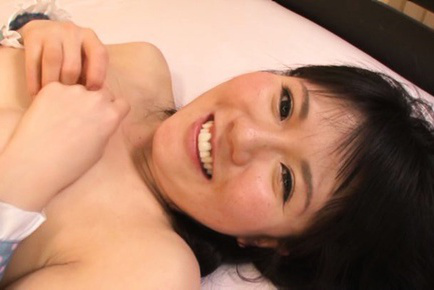 Riko ichikawa. Riko Ichikawa Asian with fine bust gets ejaculate
