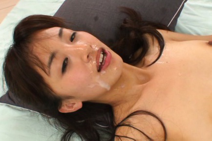 Rimu sasahara. Rimu Sasahara Asian with dark nipples is make love and gets ejaculate