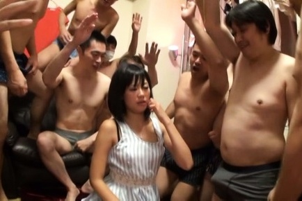 Uta kohaku. Uta Kohaku Asian has pussy licked and sucks cocks in gangbang